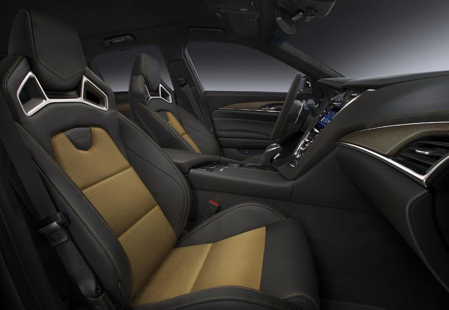 интерьер Cadillac CTS-V 2016