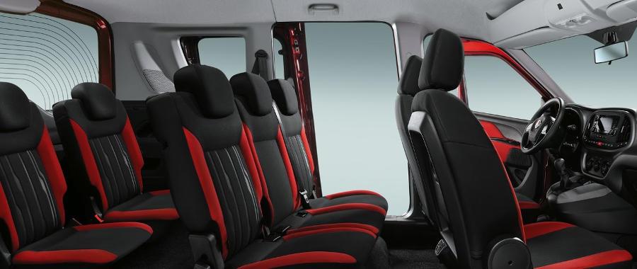 интерьер Fiat Doblo 2015
