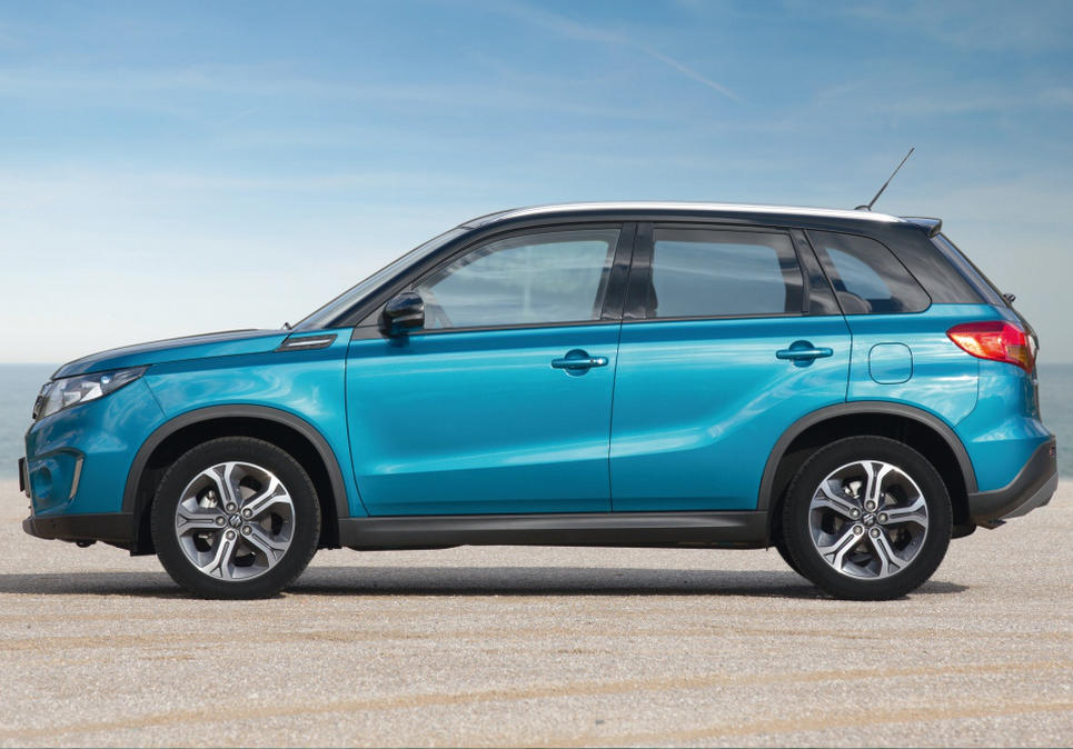 новый Suzuki Vitara 2015 сбоку