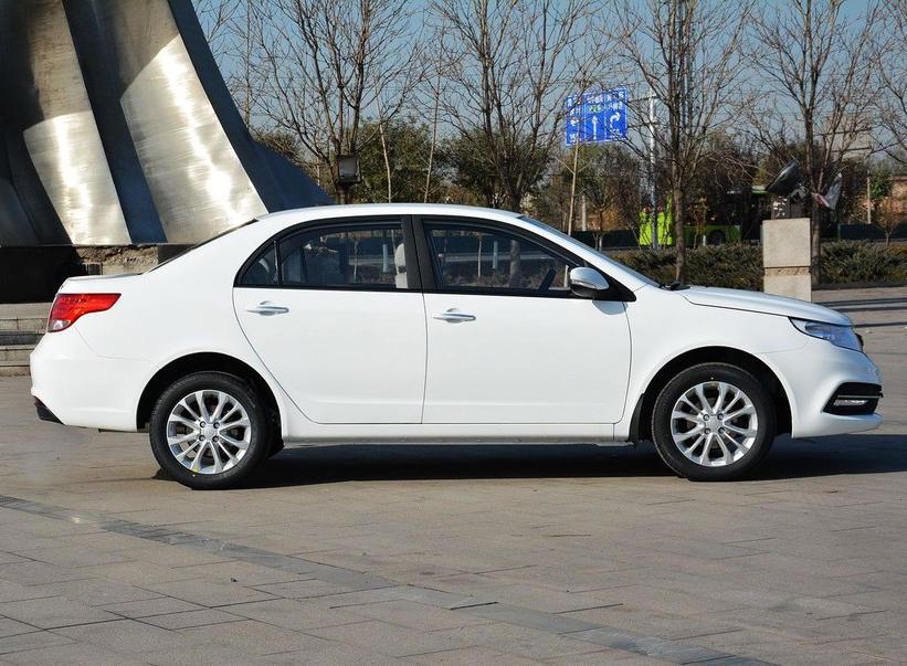 новый седан Geely GC7 2015