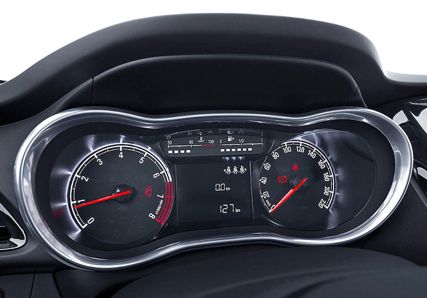 панель приборов Opel Karl 2015