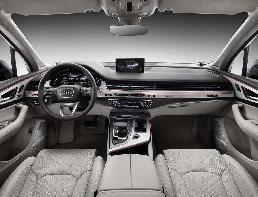 салон Audi Q7 2015 - 2016