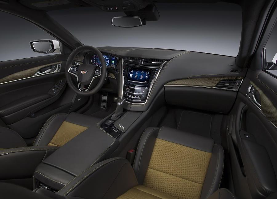 салон Cadillac CTS-V 2016