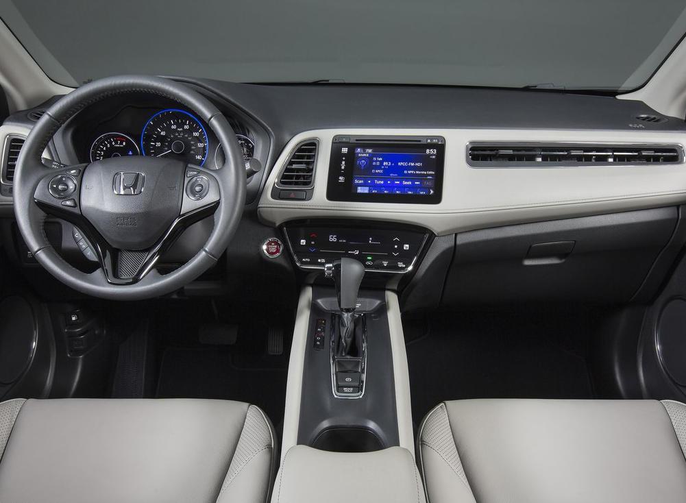 салон Honda HR-V 2016