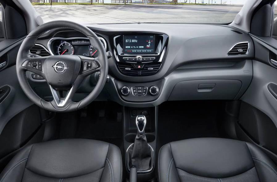 салон Opel Karl 2015