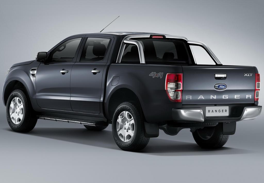 задняя часть Ford Ranger 2016