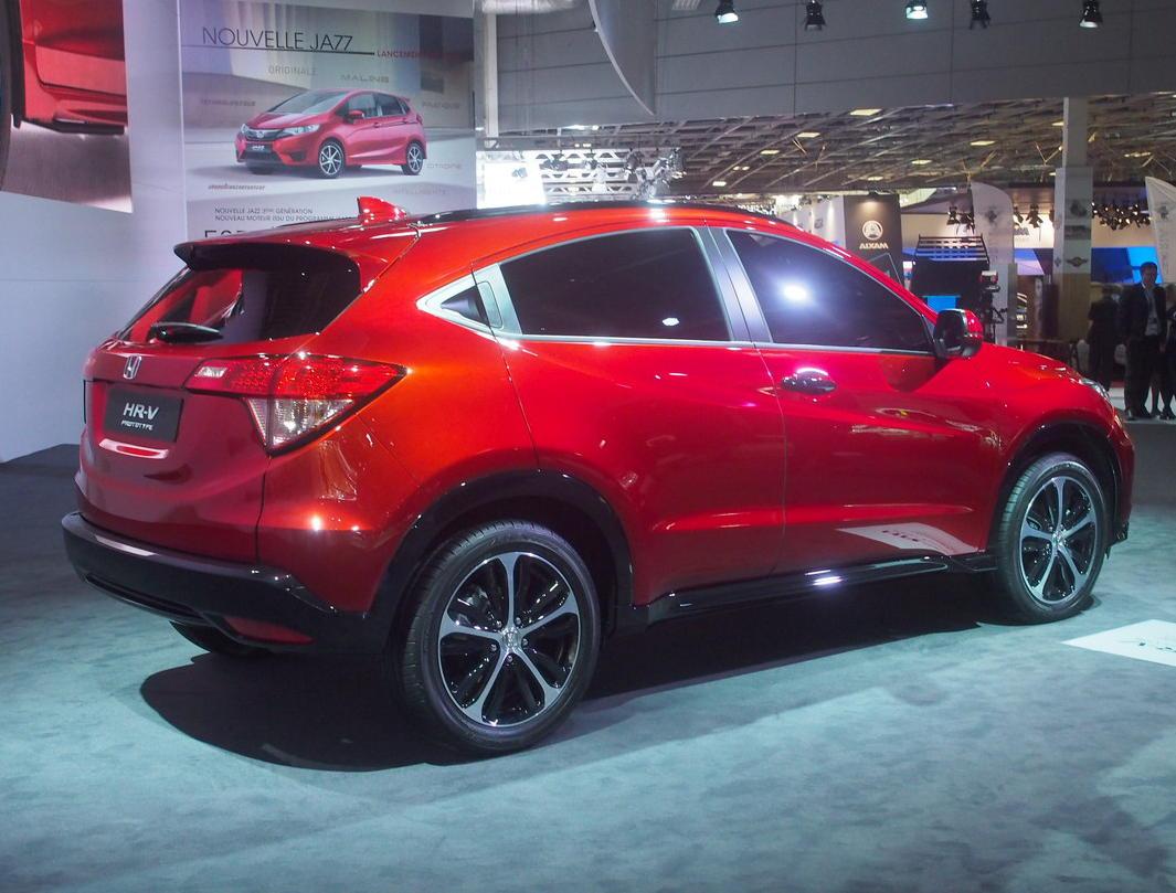 задняя часть Honda HR-V 2016