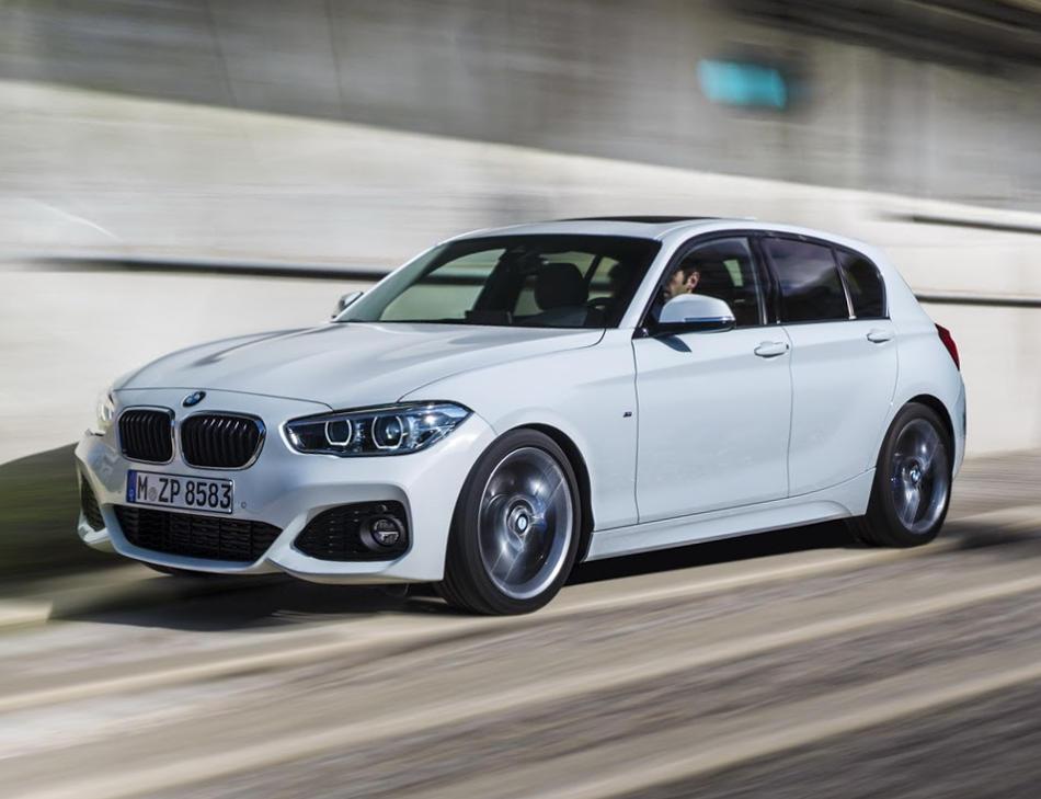 фары и бампер BMW 1-Series 2016