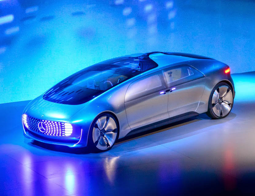 фото Mercedes F015 Luxury in Motion 2015
