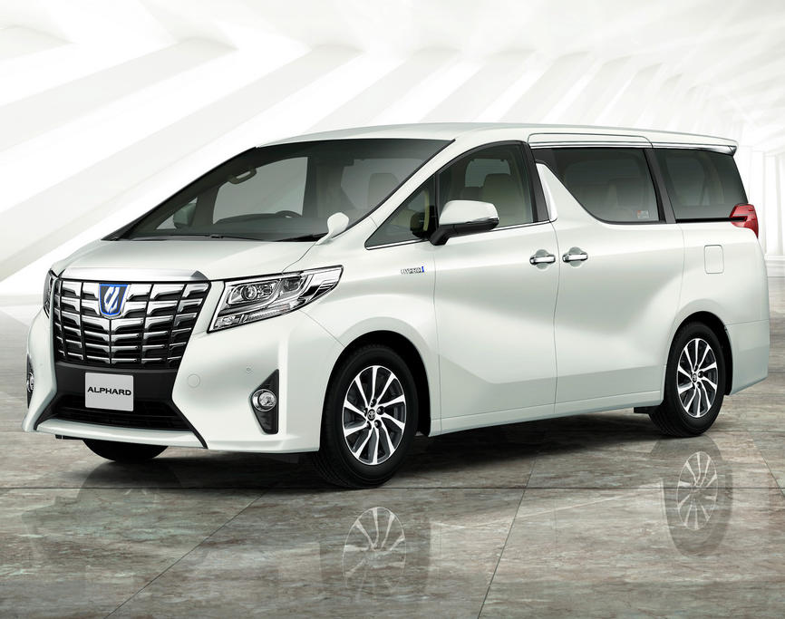 2015 Toyota Alphard Car Interior Design