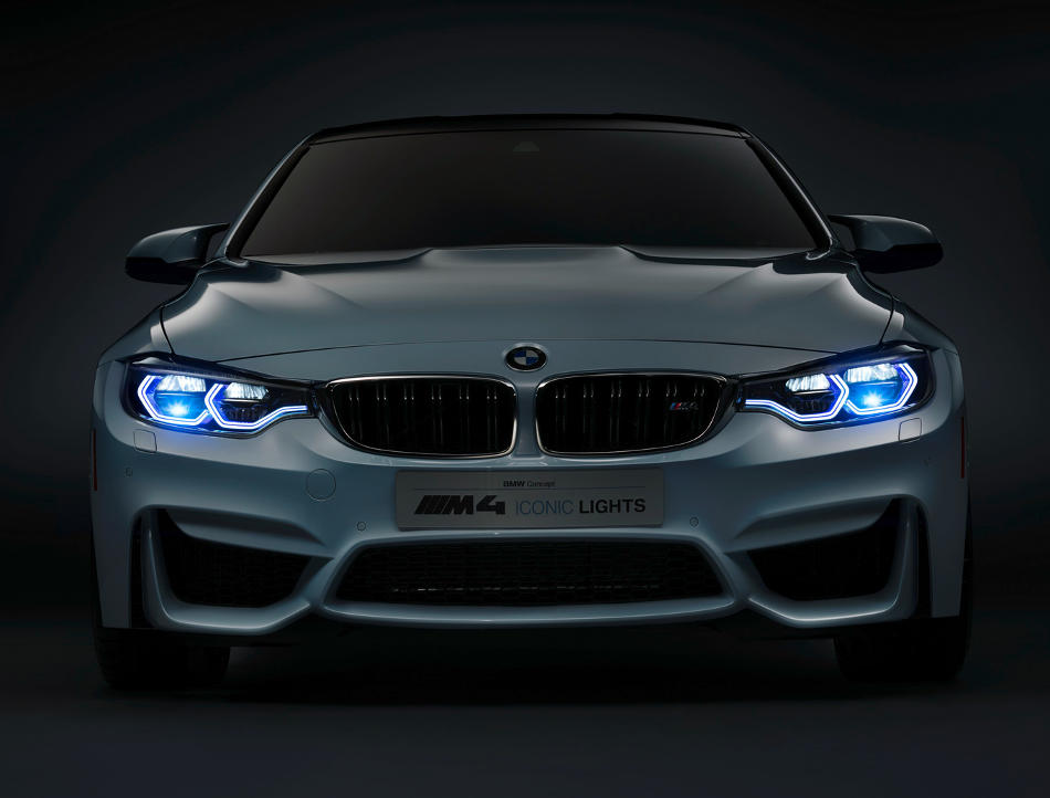фото концепта BMW M4 Iconic Lights Concept