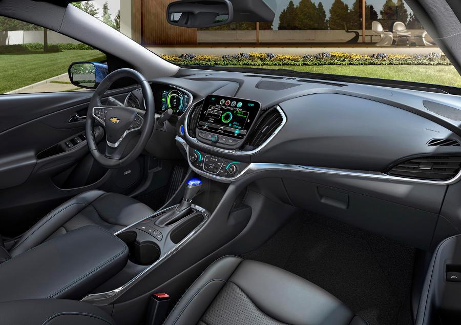 салон Chevrolet Volt 2016