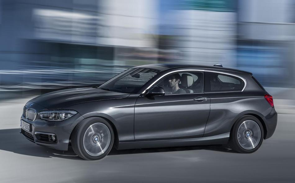 трехдверный BMW 1-Series 2016