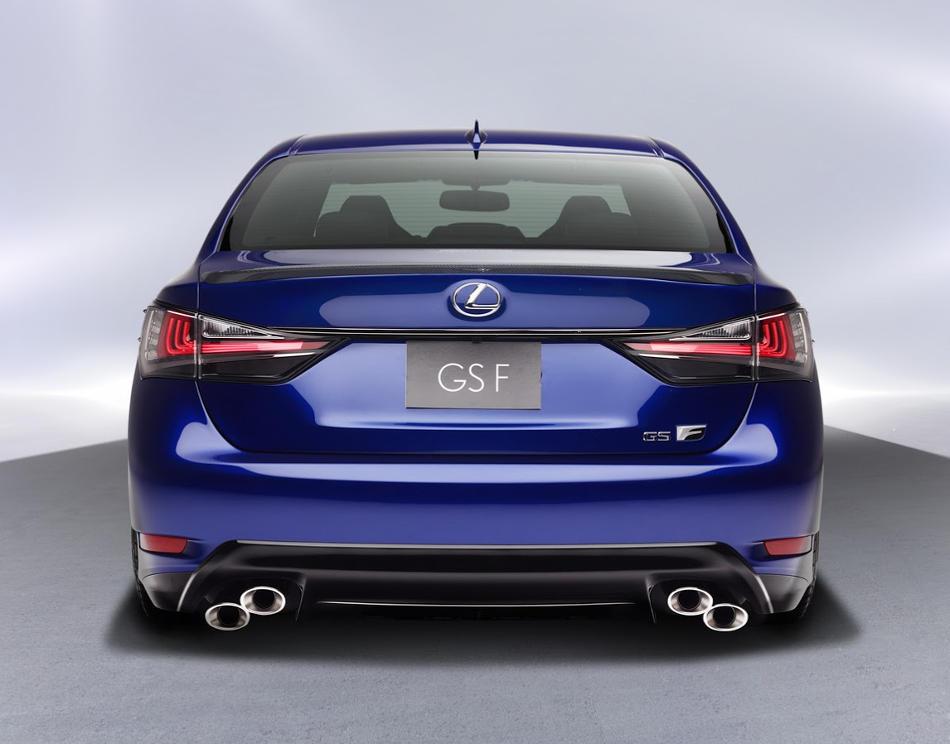 задние фонари Lexus GS F 2016