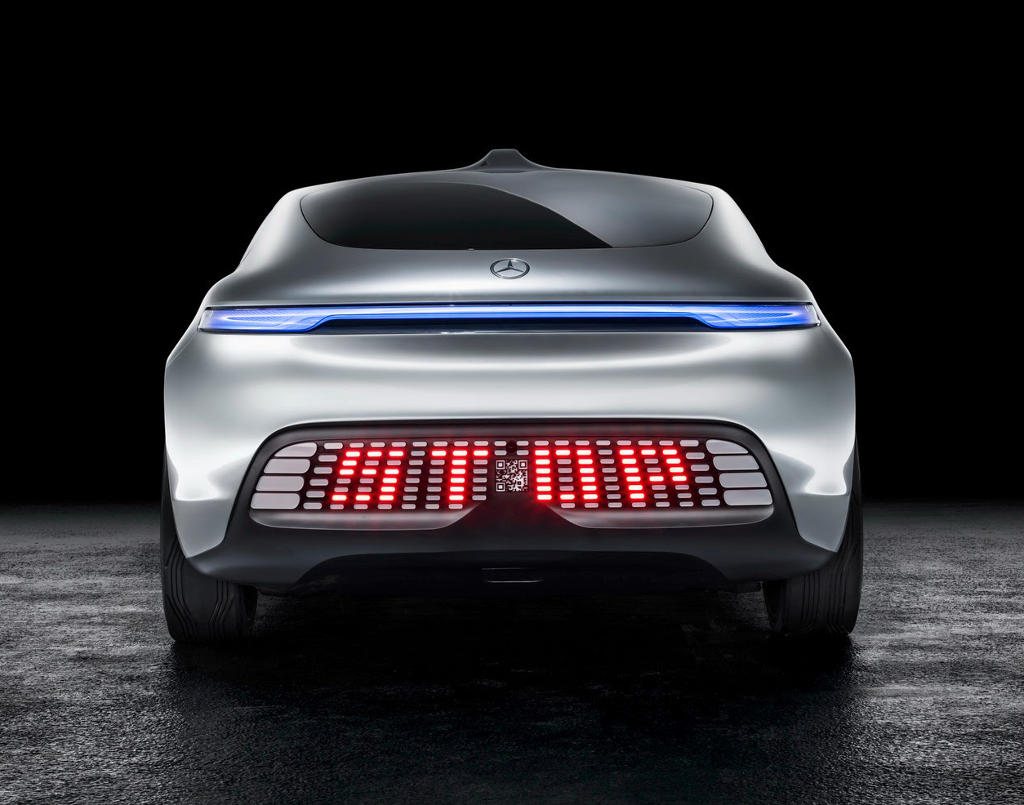 задние фонари Mercedes F015 Luxury in Motion