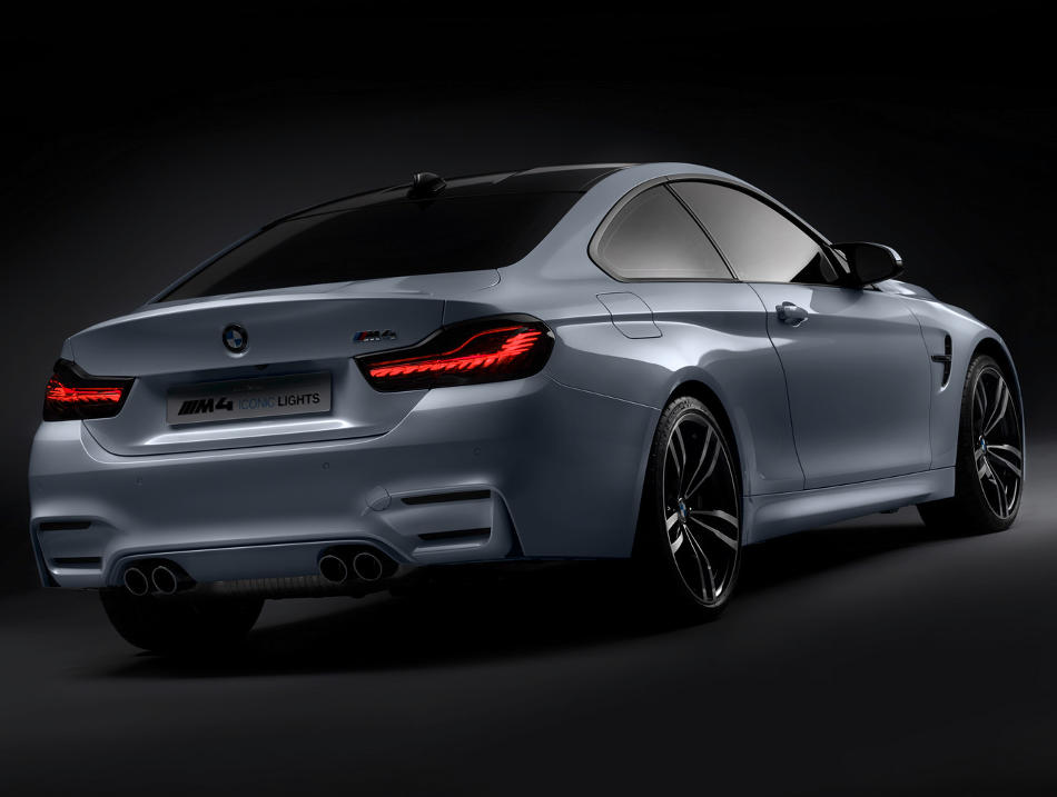 задняя часть BMW M4 Iconic Lights Concept