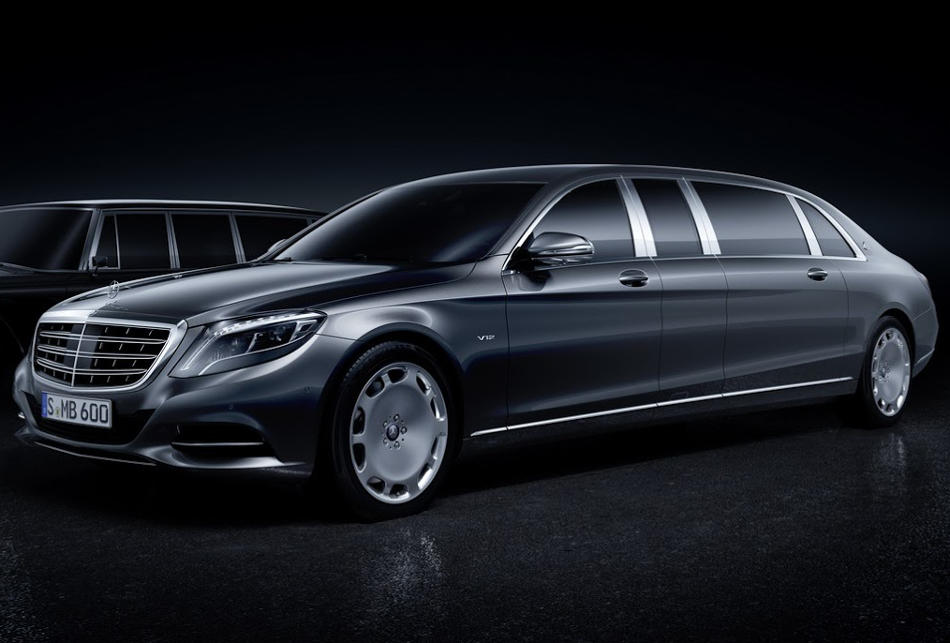 фото Mercedes S600 Pullman Maybach 2016