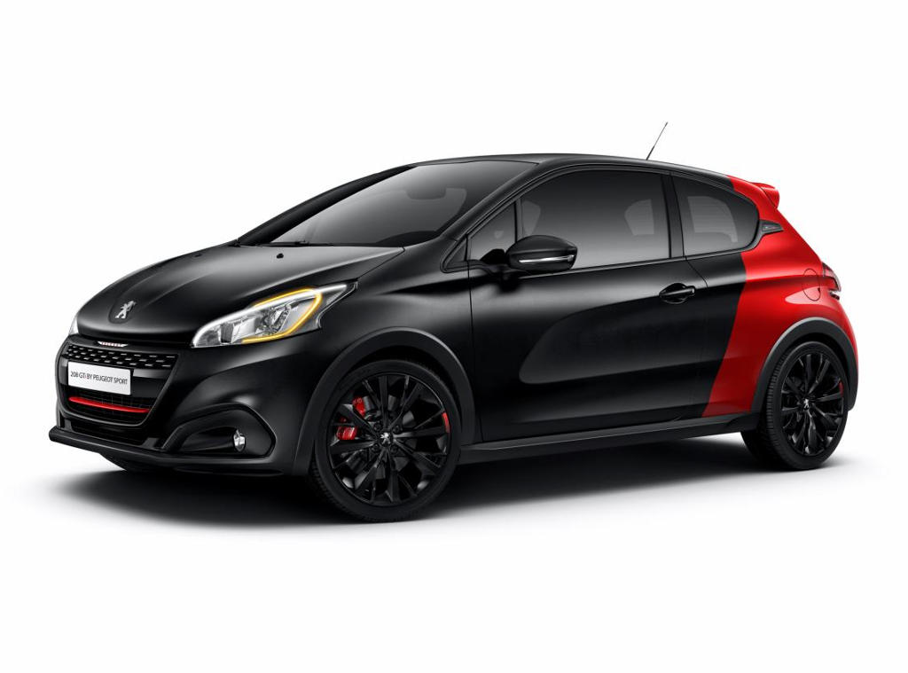 фото Peugeot 208 GTi 30th Anniversary Edition 2016