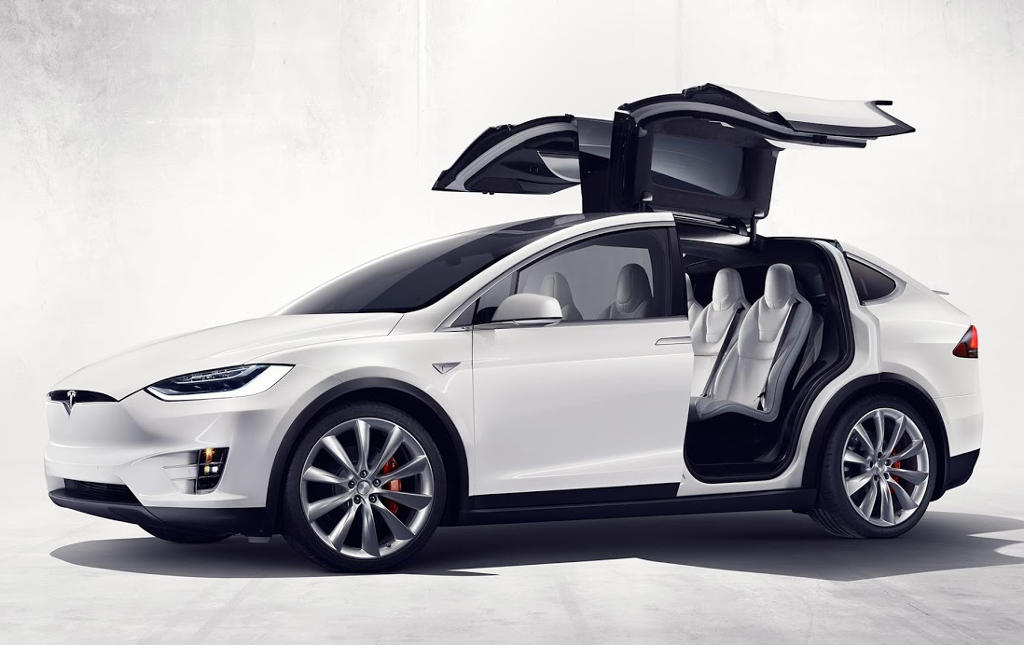 фото Tesla Model X SUV 2016