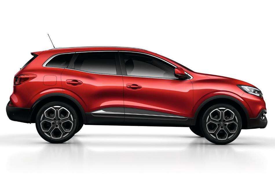 новый Renault Kadjar 2016 сбоку