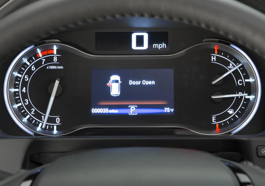 панель приборов Honda Pilot 2016