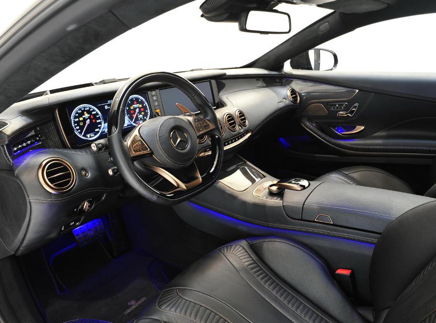 Купе Mercedes S63 AMG 2015 в тюнинге Brabus (фото)