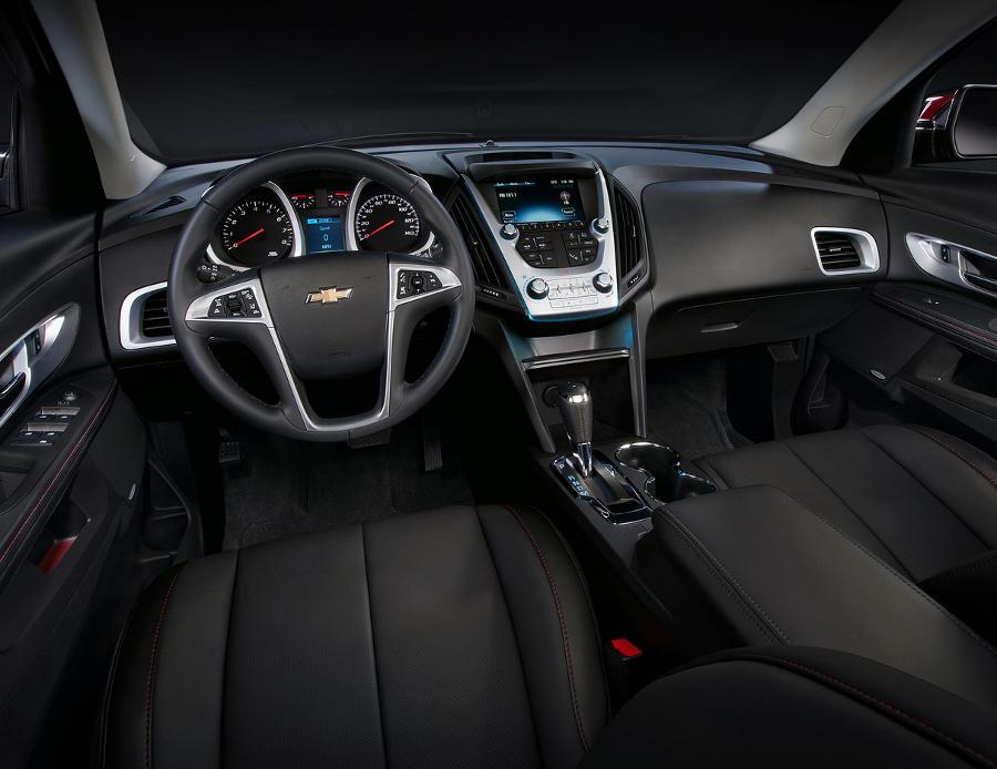 салон Chevrolet Equinox 2016