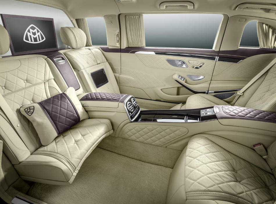 салон Mercedes S600 Pullman Maybach 2016