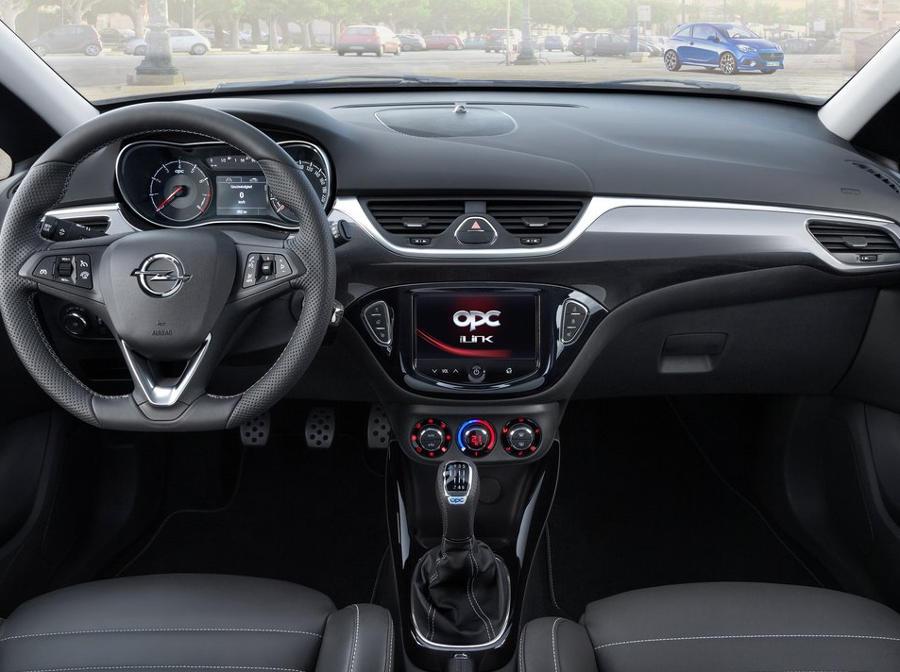 салон Opel Corsa OPC 2016