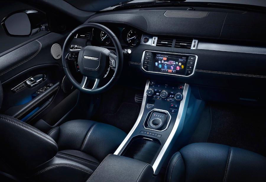 салон Range Rover Evoque 2016