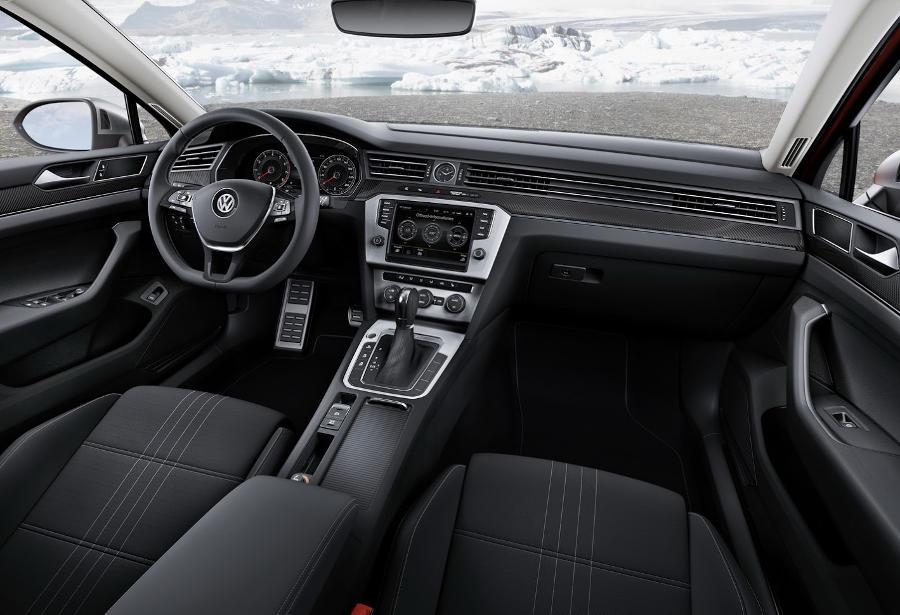 салон Volkswagen Passat Alltrack 2016