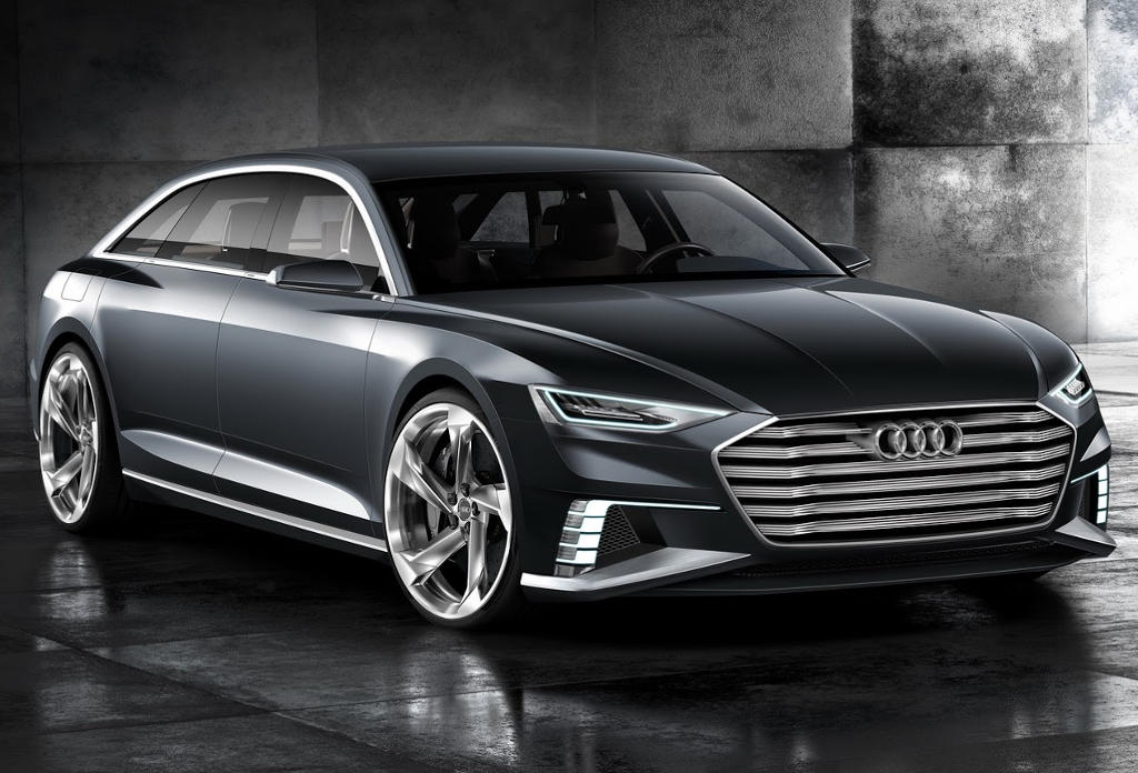 бампер и фары Audi Prologue Avant 2015