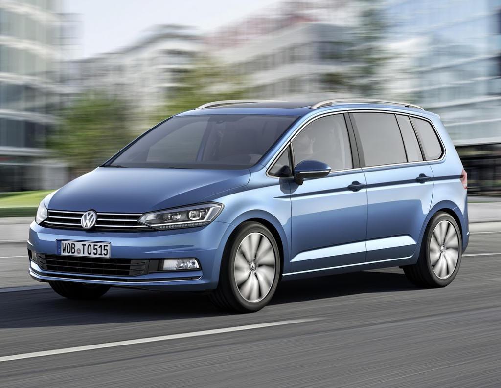 Новый Volkswagen Touran 2016 (фото, цена, видео)