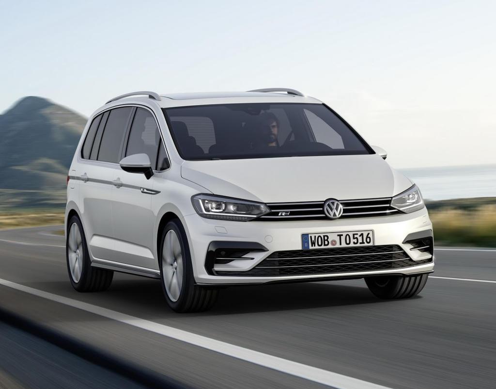 фото Volkswagen Touran 2016