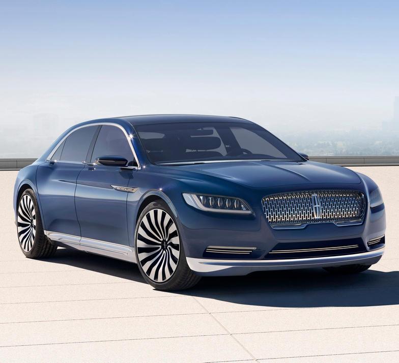 фото концепта Lincoln Continental 2015