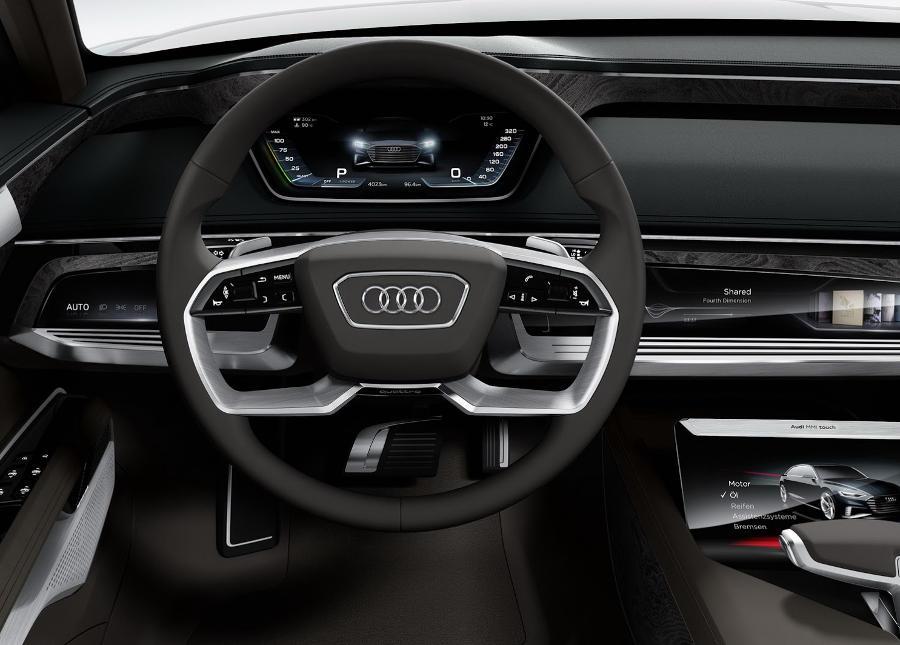 интерьер Audi Prologue Avant 2015