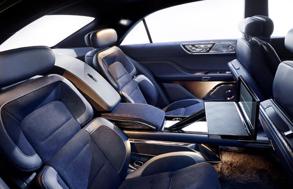 интерьер Lincoln Continental 2015 концепт