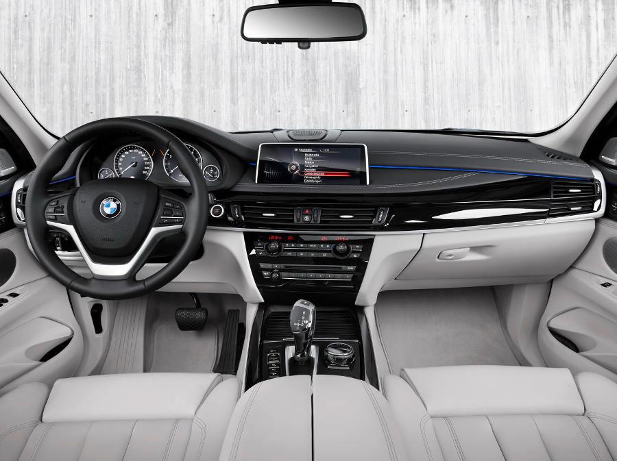 салон BMW X5 xDrive40e Гибрид 2016