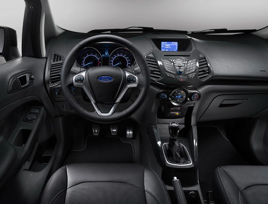 салон Ford EcoSport S 2016