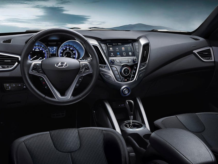 салон Hyundai Veloster 2016