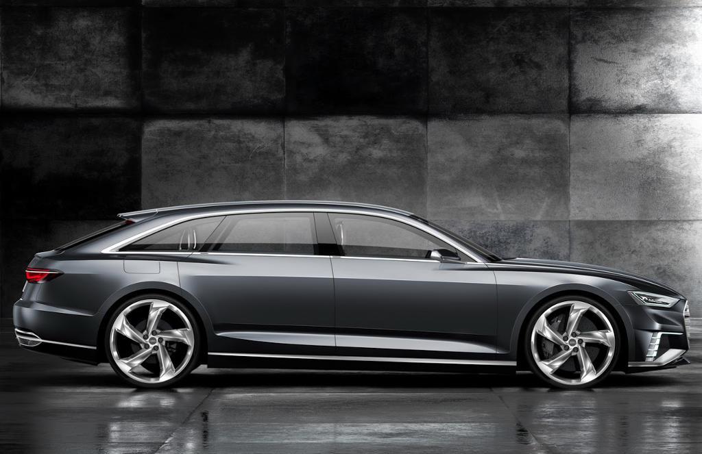 универсал Audi Prologue Avant сбоку