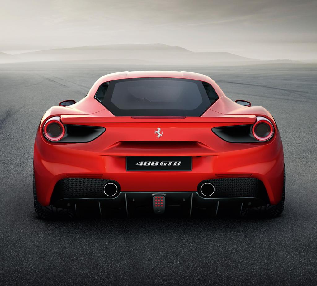 задние фонари Ferrari 488 GTB 2016