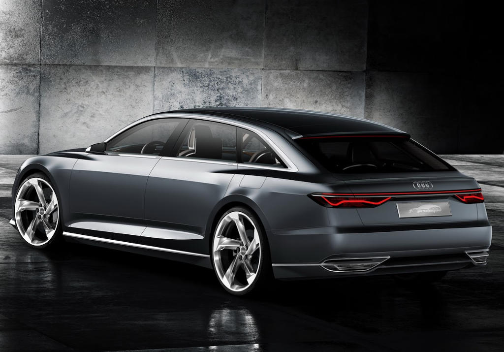 задняя часть Audi Prologue Avant