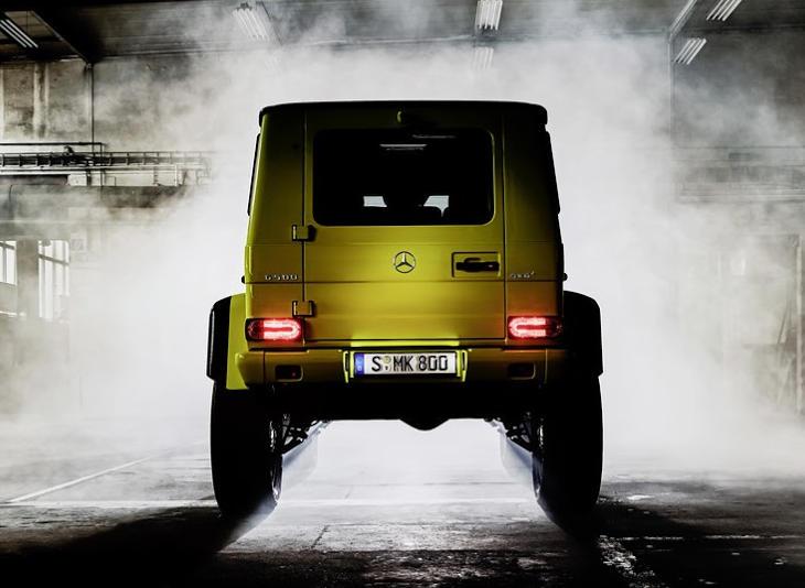 Технические характеристики Mercedes G-class (Мерседес...