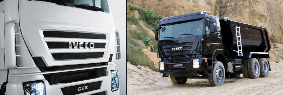 Новый грузовик Iveco 682