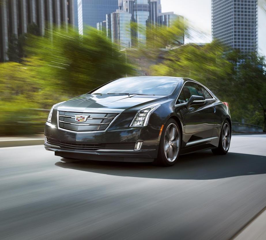бампер и фары Cadillac ELR 2016