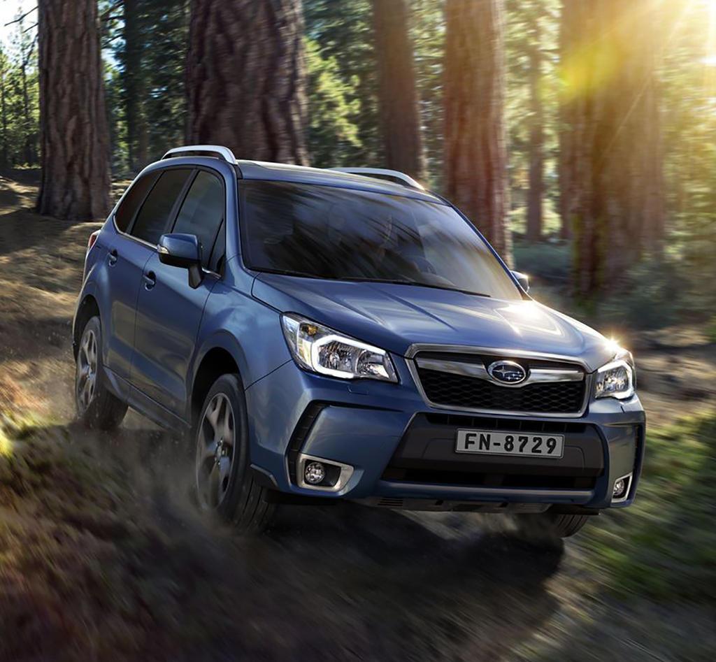 фото Subaru Forester 2015