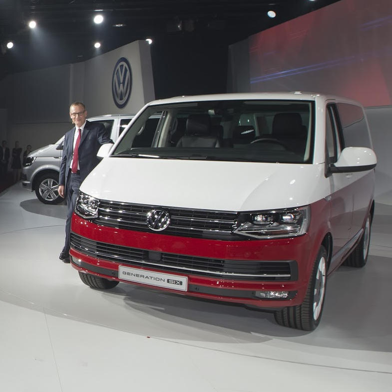фото VW T6 Generation SIX 2016