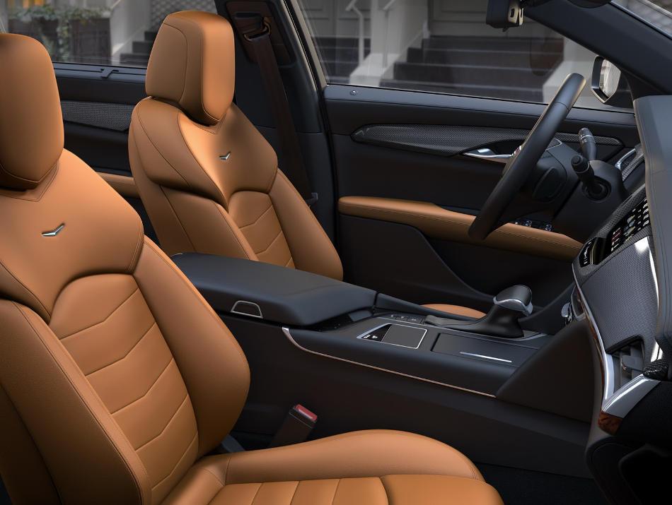 интерьер Cadillac CT6 2016