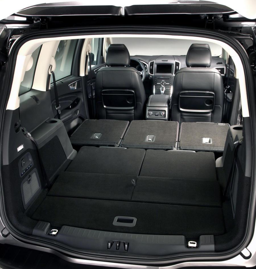 интерьер Ford Galaxy 2016
